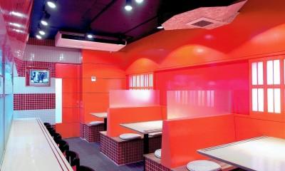 中華店舗付き住宅の改装:デザインリフォーム