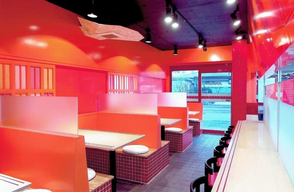 中華店舗付き住宅の改装:デザインリフォーム (店舗付き住宅の1階店舗ー2)