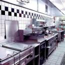 中華店舗付き住宅の改装:デザインリフォームの写真 店舗付き住宅の1階店舗ー厨房