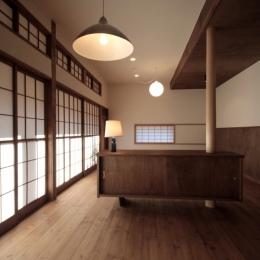 懐かしい新しさをつくる 和のリノベーション(木造1戸建てリノベーション) (LD)