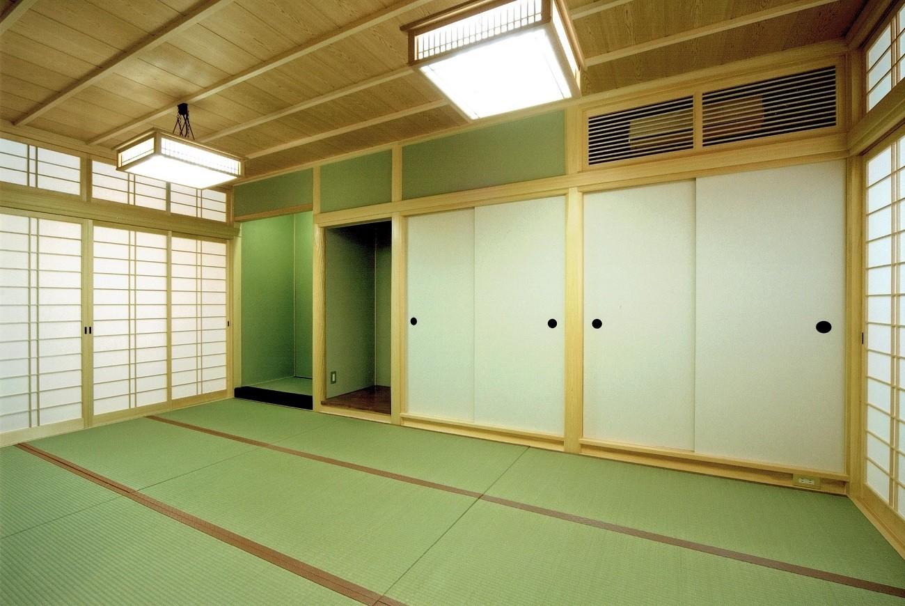 その他事例:和室:仏間(平屋に住まう:夫婦二人に ちょうどいいシンプルな住まい)