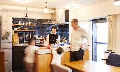 menue-思い出の家具を中心に、家族団らんを楽しめる住まいを