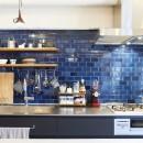 menue-思い出の家具を中心に、家族団らんを楽しめる住まいをの写真 キッチン