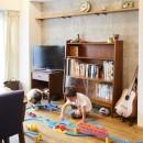 menue-思い出の家具を中心に、家族団らんを楽しめる住まいをの写真 リビング