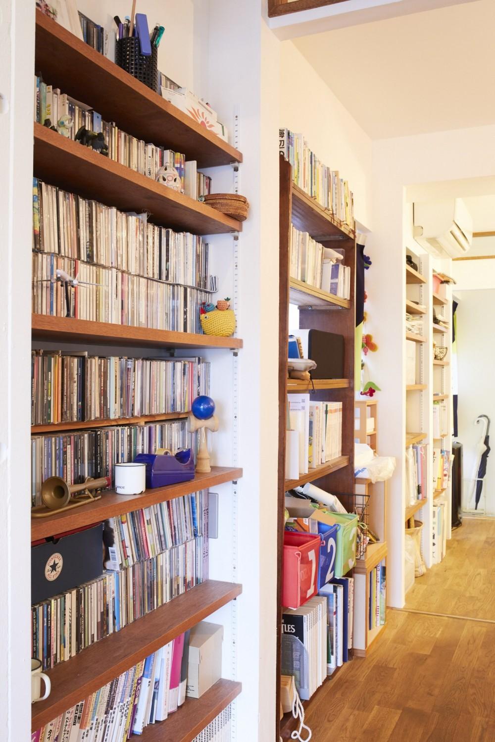 menue-思い出の家具を中心に、家族団らんを楽しめる住まいを (廊下)