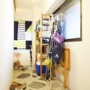 menue-思い出の家具を中心に、家族団らんを楽しめる住まいをの写真 玄関