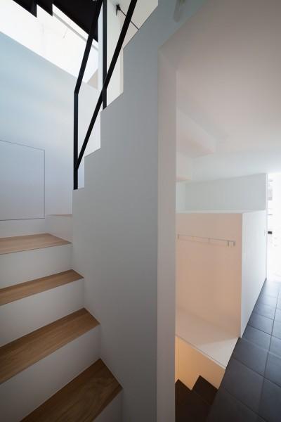 階段 (東玉川の住宅)