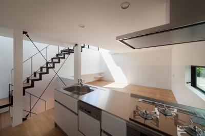 キッチン (東玉川の住宅)