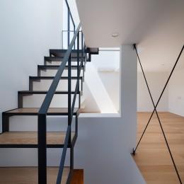 東玉川の住宅 (階段)