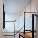 東玉川の住宅の写真 階段