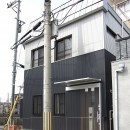 ホームエレベーターがあるバリアフリー住宅|遮音・防音構造の住宅(ガレージハウス)の写真 外観-2