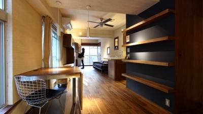 re-apartment/kik (リビングダイニング)