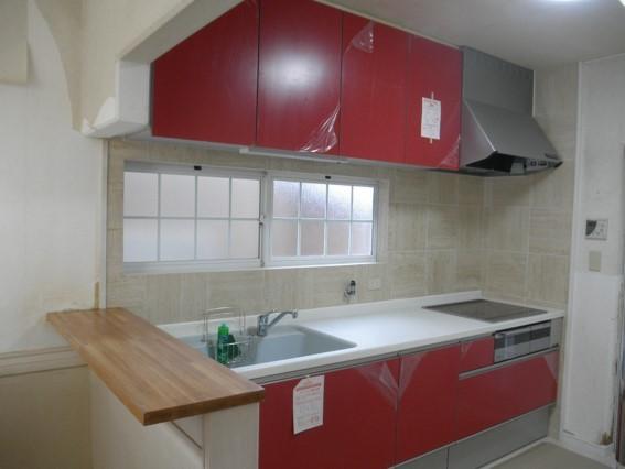 キッチン事例:キッチン(一宮市 K様邸 キッチン・トイレ・洗面台)