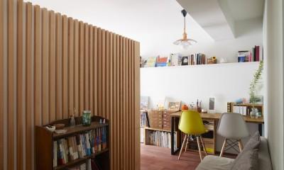 Licht-縁側に障子…今の暮らしに合わせた和の空間 (廊下)