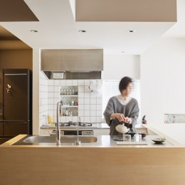 Licht-縁側に障子…今の暮らしに合わせた和の空間 (キッチン)