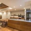 下有知の家の写真 オーダーキッチン