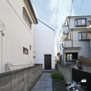 さいたまの旗竿敷地の家 OUCHI-21の写真 旗竿敷地での外観