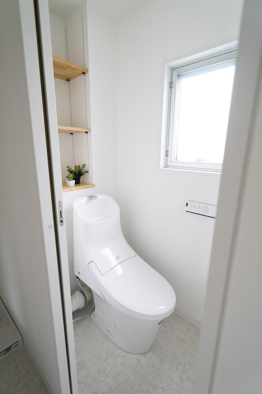 リノベーション リビングと繋がる部屋 (トイレ)