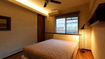 re-apartment/kik (寝室)