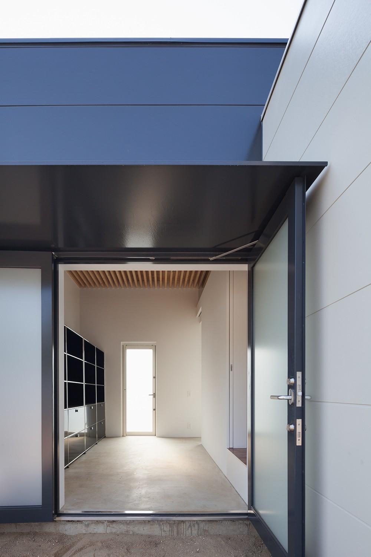 羽鳥の平屋 (玄関)
