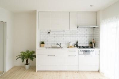 リノベーション リビングと繋がる部屋 (キッチン)