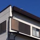 一宮市 M様邸 外壁塗装工事 屋根雨漏り対策の写真 外壁塗装工事 笠木部分