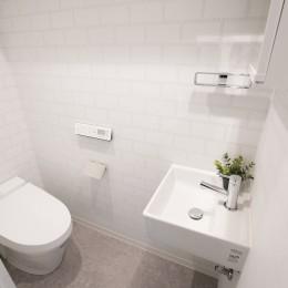 リノベーション 海を感じる部屋 (トイレ)
