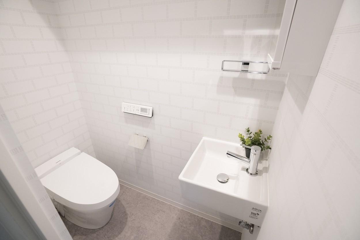 バス/トイレ事例:トイレ(リノベーション 海を感じる部屋)