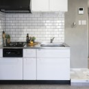 リノベーション 海を感じる部屋の写真 キッチン