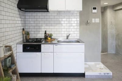 キッチン (リノベーション 海を感じる部屋)