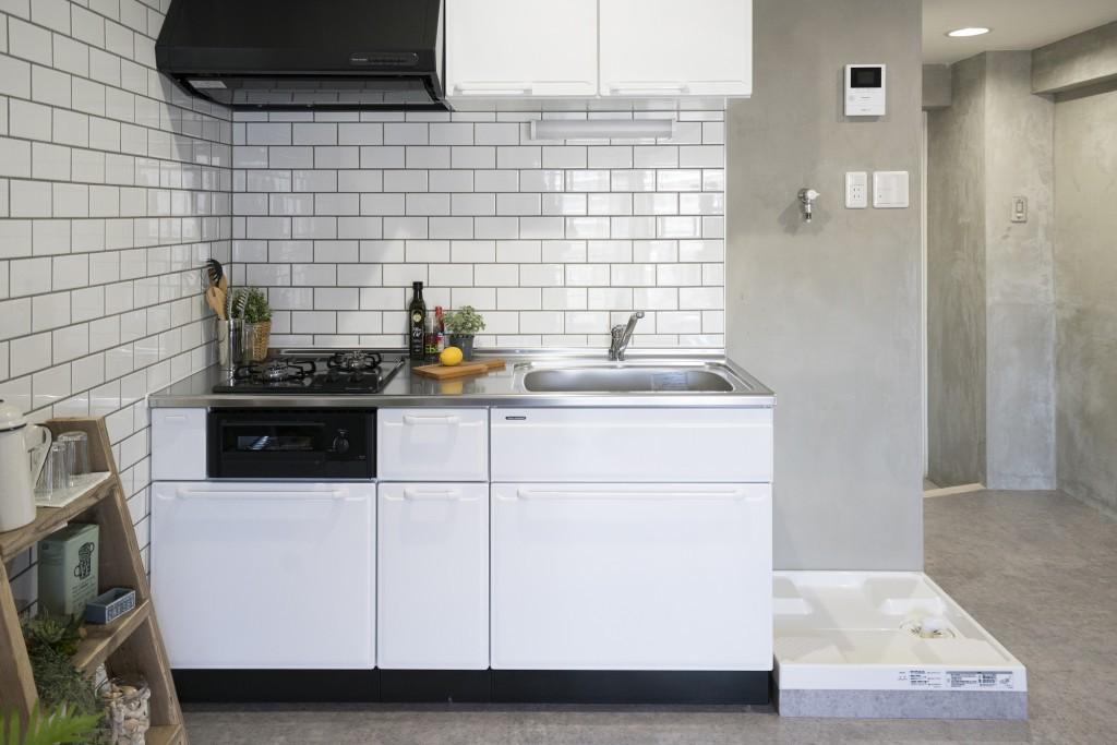 キッチン事例:キッチン(リノベーション 海を感じる部屋)