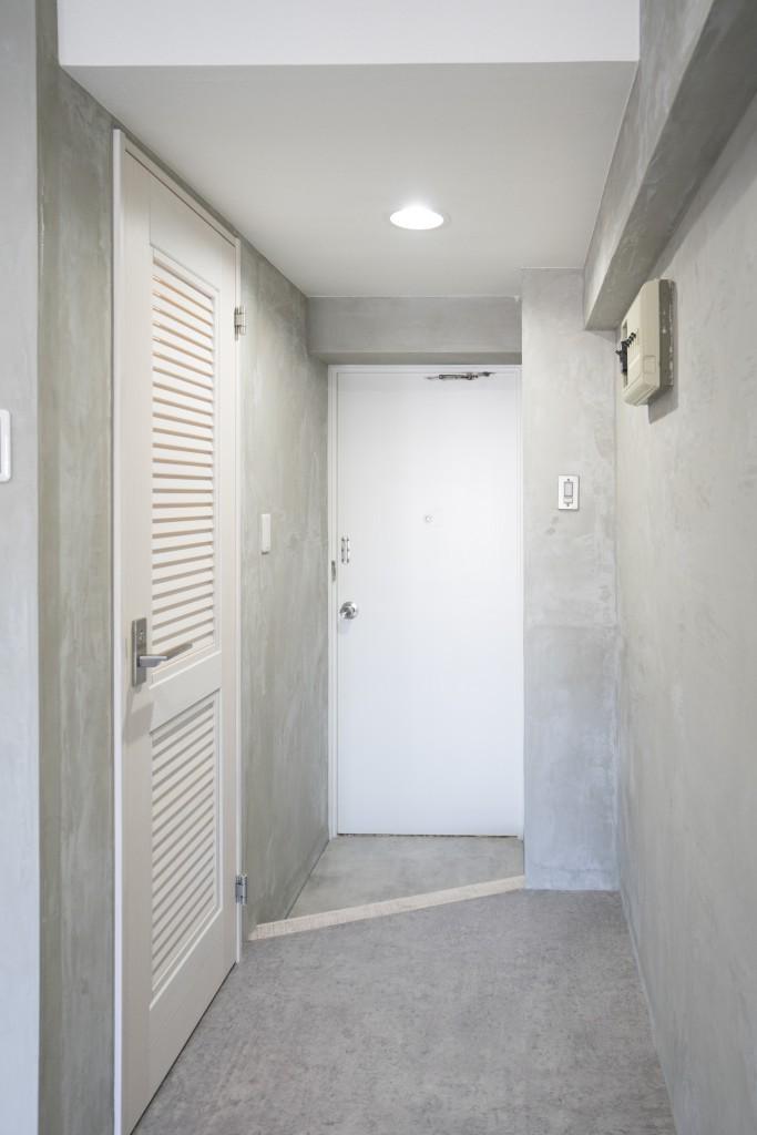 リノベーション 海を感じる部屋 (玄関)