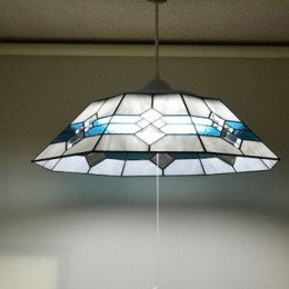 8畳用ステンドグラス照明