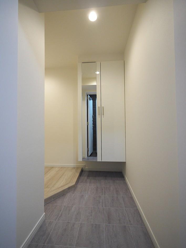 玄関事例:玄関(移動がラクな家事動線)