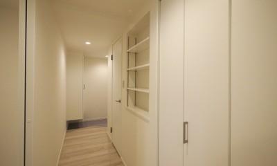 廊下|移動がラクな家事動線