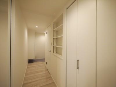 廊下 (移動がラクな家事動線)