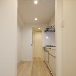 移動がラクな家事動線 (キッチン)