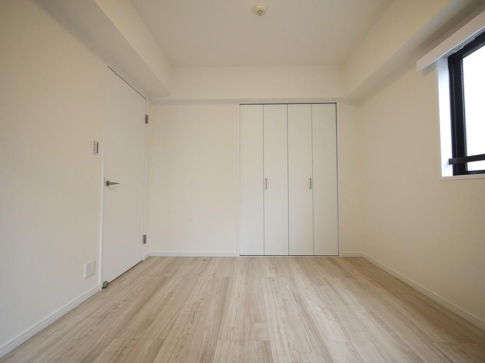 ベッドルーム事例:洋室(移動がラクな家事動線)