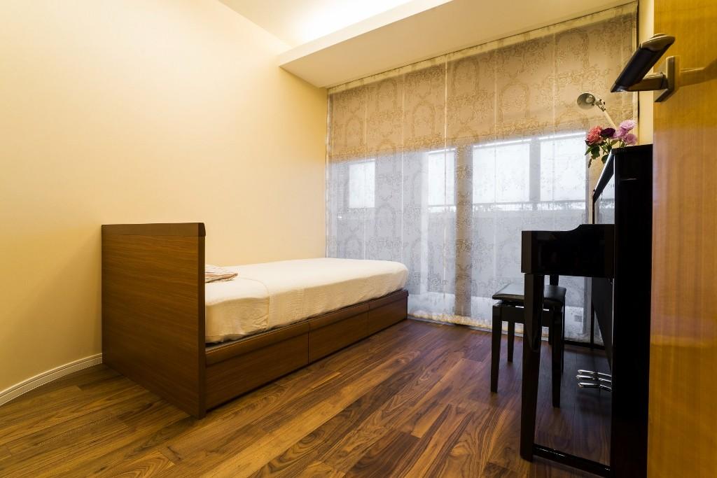 子供部屋事例:キッズルーム(アールの壁が印象的な上質で洗練された都心の住まい)