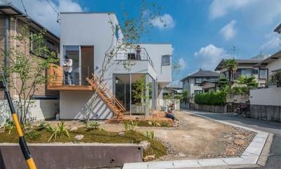 カドニワの家 ー内と外が緩やかにつながった「空間グラデーション」ー