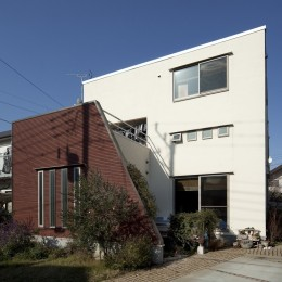 KOJ 「蔵のある家」 (南側外観)