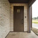 カンツリー倶楽部  「調整区域に建てた家」の写真 玄関ポーチ