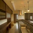 カンツリー倶楽部  「調整区域に建てた家」の写真 対面キッチン