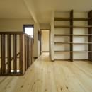 カンツリー倶楽部  「調整区域に建てた家」の写真 2階ホール