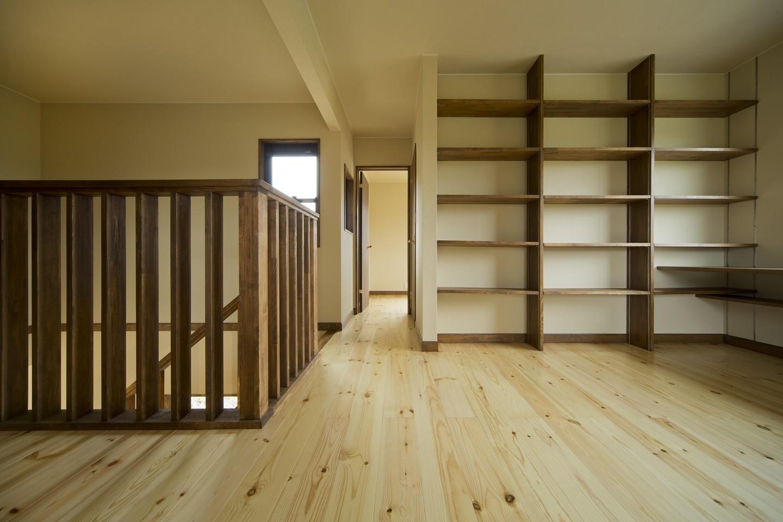 その他事例:2階ホール(カンツリー倶楽部  「調整区域に建てた家」)