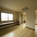 カンツリー倶楽部  「調整区域に建てた家」の写真 将来仕切ることができる2階ホール
