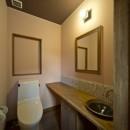 カンツリー倶楽部  「調整区域に建てた家」の写真 2階トイレ