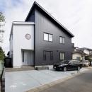 ツイン・シェイプス 「2世帯住宅」の写真 西側外観