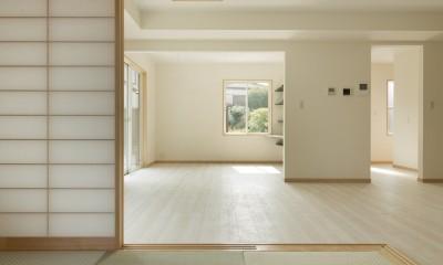 ツイン・シェイプス 「2世帯住宅」 (1階親世帯和室)