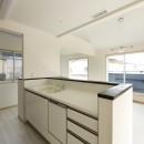ツイン・シェイプス 「2世帯住宅」の写真 2階キッチン